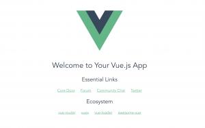 vue.js – 시작하기, 환경설정 및 Hello World Example